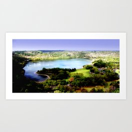 Leg of Mutton Lake Art Print