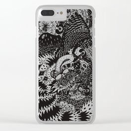 Domesticated (Afternoon in the Garden) Clear iPhone Case