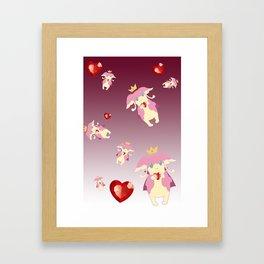 Audino Royalty  Framed Art Print