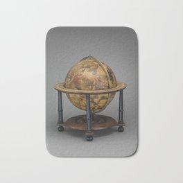 Historical Celestial Globe Photograph (1621) Bath Mat