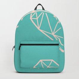 Geometric Heart Backpack