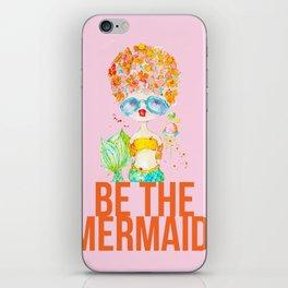 pink lemonade -- be the mermaid. iPhone Skin