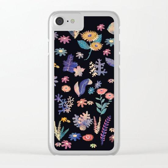 color garden!! Clear iPhone Case