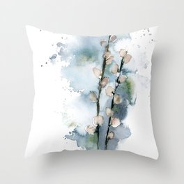 Spring signs Throw Pillow
