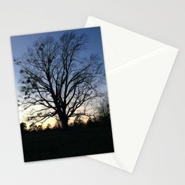 arkansas spring at sunset Stationery Cards