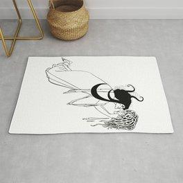 Aubrey Beardsley - The Climax Rug