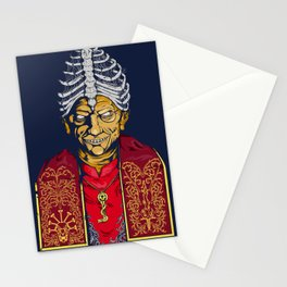 Dark pope Stationery Cards