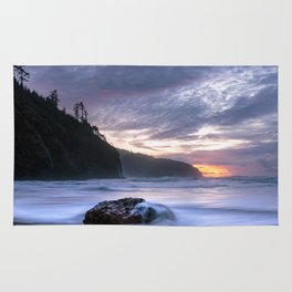 Cape Lookout Sunset Rug