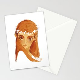 - Gazes - Red Head Stationery Cards