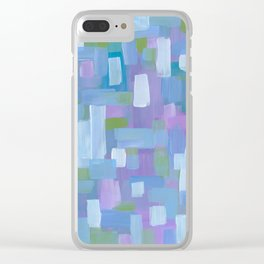 Spring Showers Clear iPhone Case