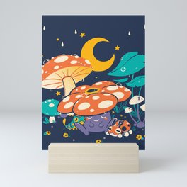 Goodnight Plume Mini Art Print
