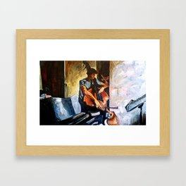 The Practice Room Framed Art Print