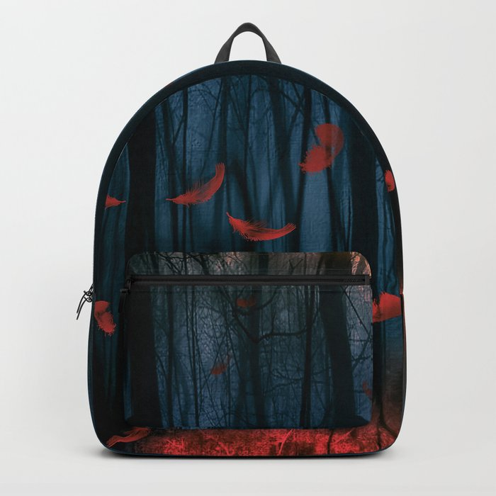 Red feather dance  (colour option) Backpack
