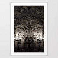 The Opera of Paris Art Print