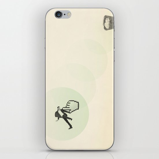 trash man iPhone & iPod Skin