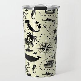 High Seas Adventure // Yellow Travel Mug