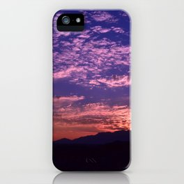 SW Mountain Sunrise - II iPhone Case