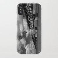 honda iPhone & iPod Cases featuring Bahia Honda Rail Bridge, Florida by SefoG