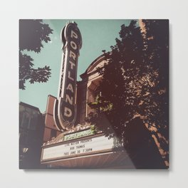 Portland, Arlene Schnitzer Hall Metal Print