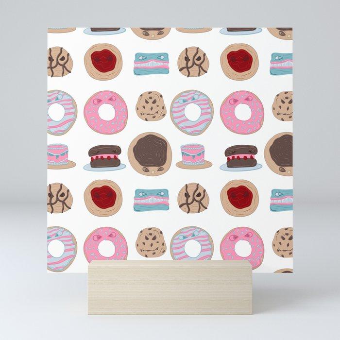 Evil Desserts Mini Art Print
