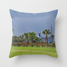 Port Canaveral 2 Throw Pillow
