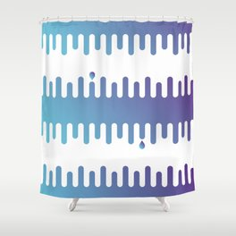Drips: Hombre Shower Curtain