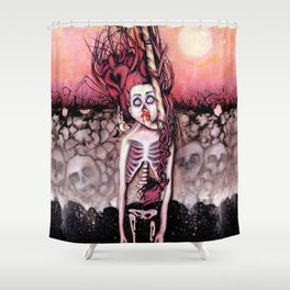 Partially Dreaming Shower Curtain