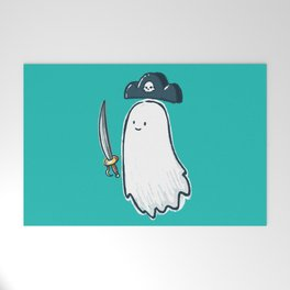Pirate Ghost Welcome Mat