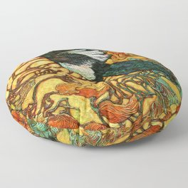 Fortune Collector Floor Pillow