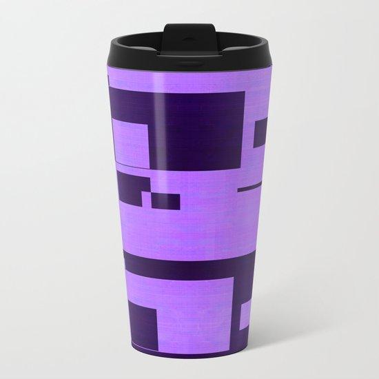 QR Metal Travel Mug