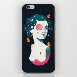 Rebel Girl iPhone Skin