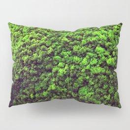 Dark Green Moss Pillow Sham
