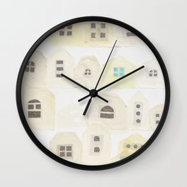 A residential area Wall Clock
