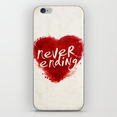 never ending love iPhone & iPod Skin