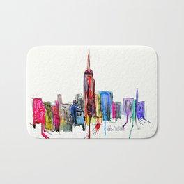 new york inked  Bath Mat