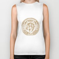 tigers Biker Tanks featuring Superspeed Tigers by Tshirt-Factory
