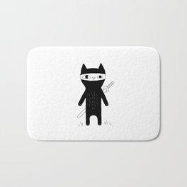 Ninja Cat Bath Mat