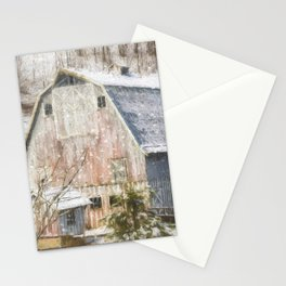 Old Fashioned Values - Country Art Stationery Cards