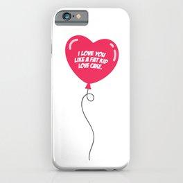 HEART BALLOON iPhone Case