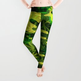 Marijuana Camo Leggings