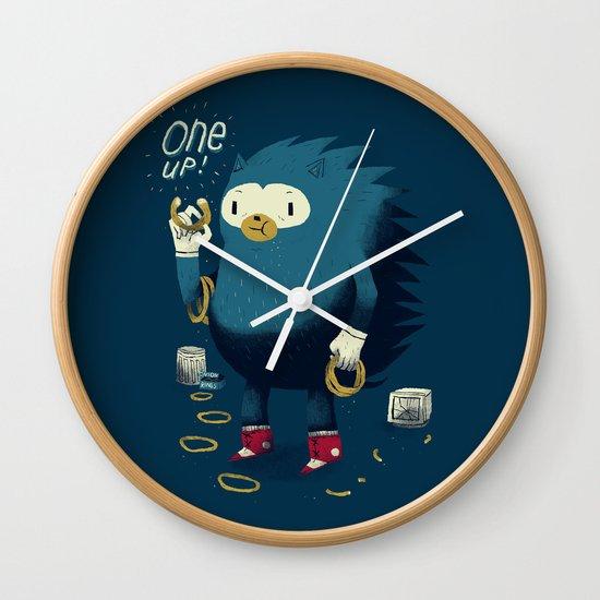 1 up! Wall Clock