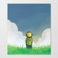 relax Canvas Prints featuring Relax by Janko Illustration