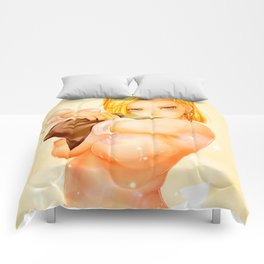 Android 18 Comforters
