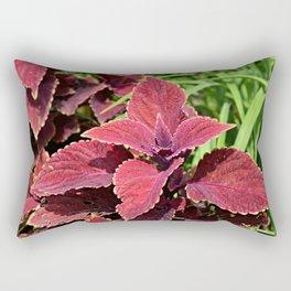 In the Garden out Back Rectangular Pillow