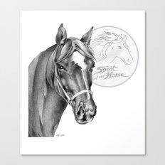 Barney the Hunter: Spirit of the Horse Canvas Print