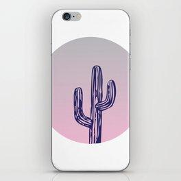 Circle Cactus iPhone Skin