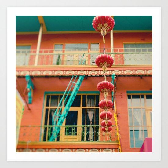 Chinatown II (San Francisco)  Art Print