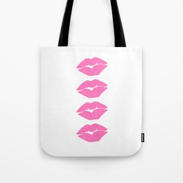 Four Lips For You Tote Bag