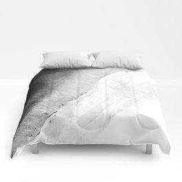 Waves in beach Comforters