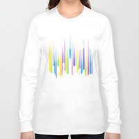 night sky Long Sleeve T-shirts featuring Night Sky by Li.Ro.Vi